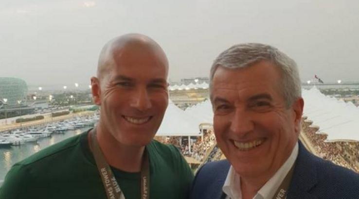 Zinedine Zidane și un corupt din România