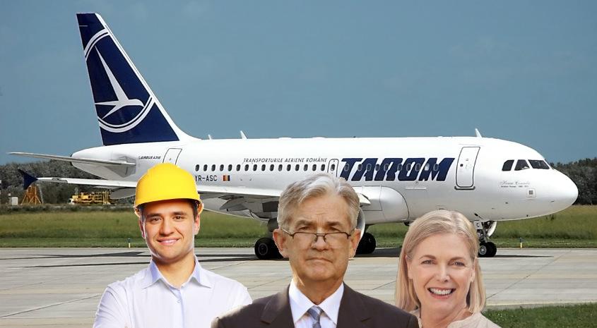 La Tarom, funcțiile angajaților reflectă gradele de rudenie: inGINERE-șef, director-adjUNCHI,SOACRĂtară