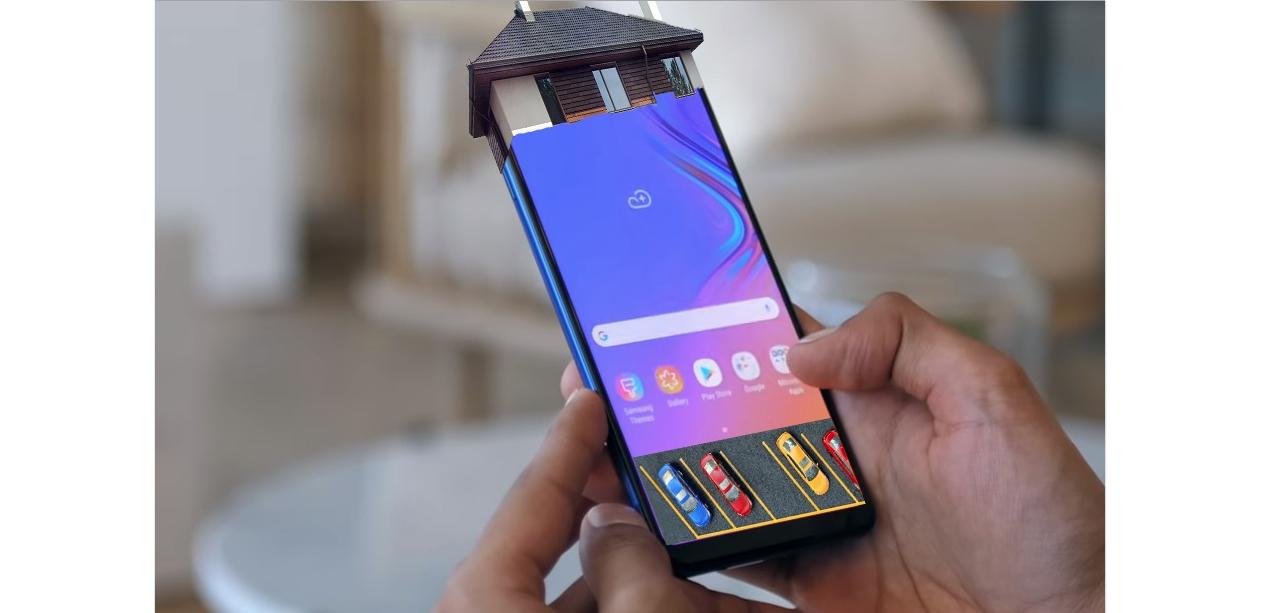 După telefonul cu 5 camere, Samsung lansează telefonul cu parcare și etaj!