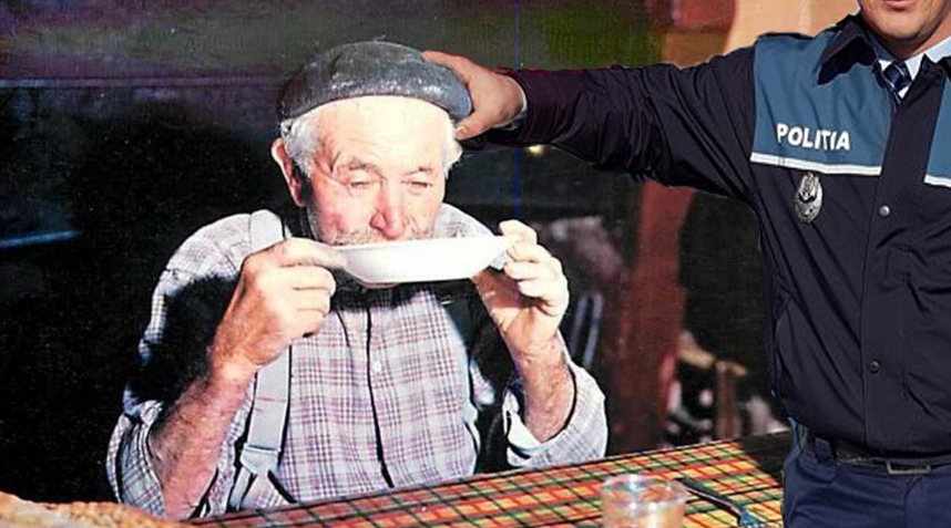 Un teleormănean va plăti taxă pe lăcomie după ce a fost prins mâncând.A doua zi la rând!