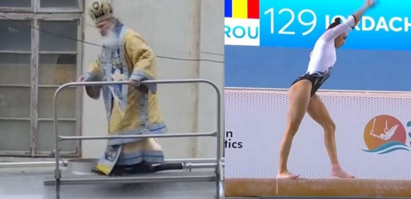 ÎPS Teodosie din nou pe cisternă - mai tare decât Larisa Iordache pe bârnă! Data viitoare îl trimitem pe el la Europene!