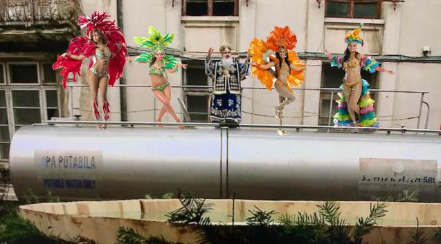 Părinte, dacă te urcai pe cisterna aia cu niște dansatoare de samba nici nu îi mai simțeam lipsa lui Mazăre!