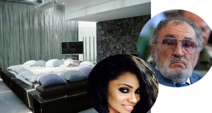 Cum arată patul în care Țiriac a adormit lângă Laurette. A costat 200.000 de euro și are 16 metri pătrați