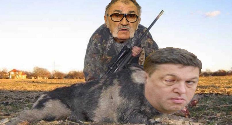 Țiriac l-a împușcat pe Șerban Nicolae după ce l-a confundatcuun porc!