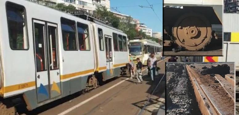 Cretinii mileniului: au băgat autobuzele pe linia de tramvai, iar acum prin Bucureşti nu se mai poate circula decât cu metroul din Drumul Taberei!