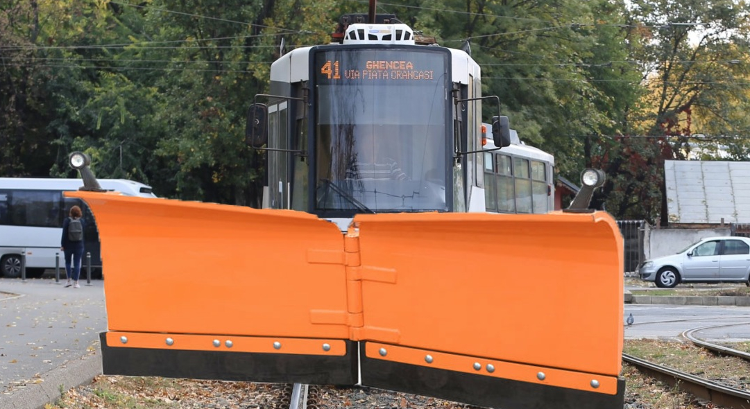 Tramvaiele vor fi dotate cu plug pentru degajarea BMW-urilor!
