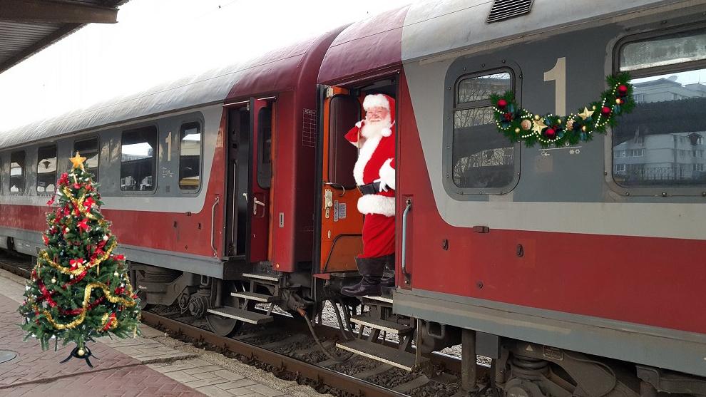 """Începând cu 1 octombrie, la urcarea în trenurile CFR vi se va ura preventiv """"Crăciun fericit!"""""""
