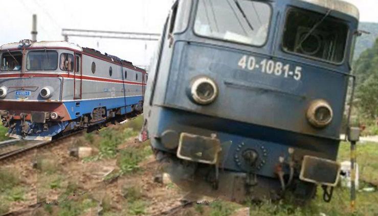 Un tren a deraiat după ce a încercat să depășească cu 30 la oră un alt tren care gonea cu 25!