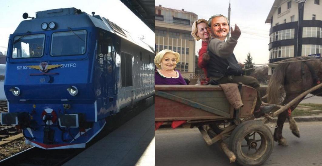 După trenul Cluj-Viena, se lansează și căruța București-Videle!