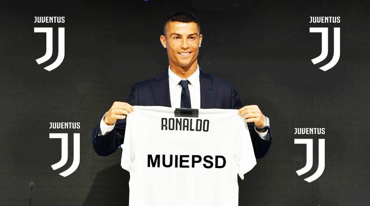 Ronaldo va juca la Juventus cu numărul MUIEPSD pe tricou!