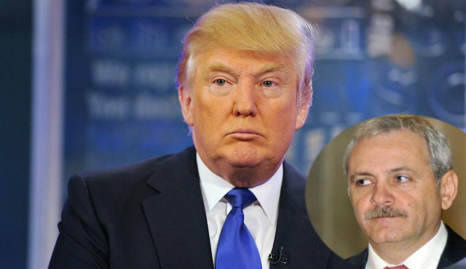 S-a afat cum scotea Dragnea 150.000 oameni sa-l aplaude pe Trump: 50.000 erau rudele si angajatii lui Firea si 100.000 jandarmi deghizati adusi de Carmen Dan