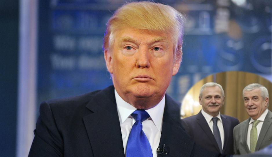 Alertă! PSD-ALDE i-a retras sprijinul politic lui Donald Trump!