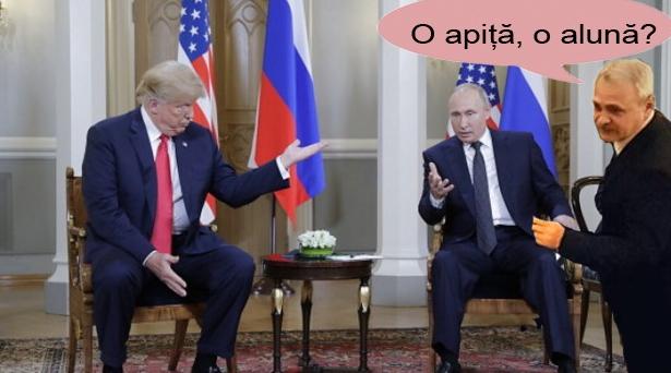Decizie istorică: Putin și Trump au hotărâtsă împartă același chelner!