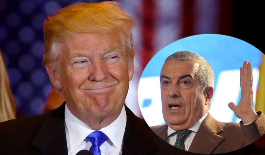 """Tăriceanu: """"Parlamentul României va cere suspendarea lui Donald Trump!"""""""