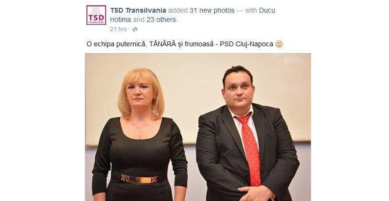 O poză cu tineri social-democrați din care lipsește doar Ion Iliescu