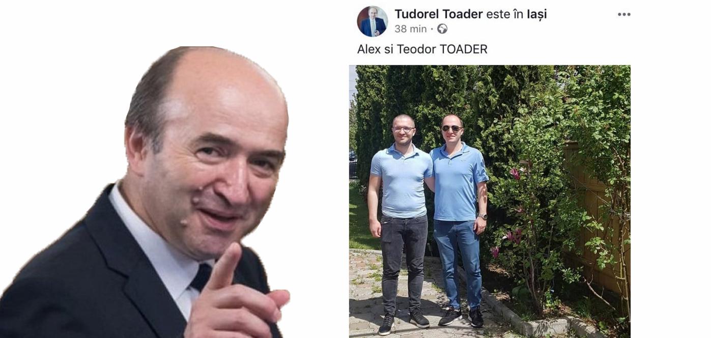 Ce 2 fii ai lui Tudorel. Să-i trăiască și să-i crească!