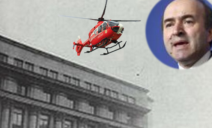 Tudorel Toader a fugit de pe CC cu elicopterul SMURD!