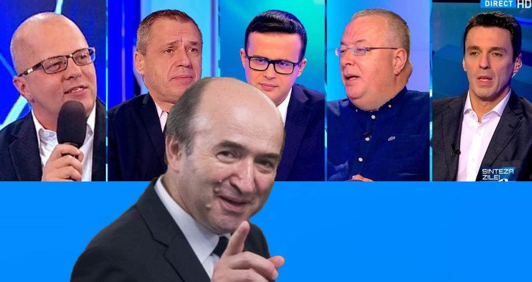 """Tudorel: """"Avem soluții la greva magistraților. Angajații de la Antena 3 și RTV sunt pregătiți să-i înlocuiască!"""""""