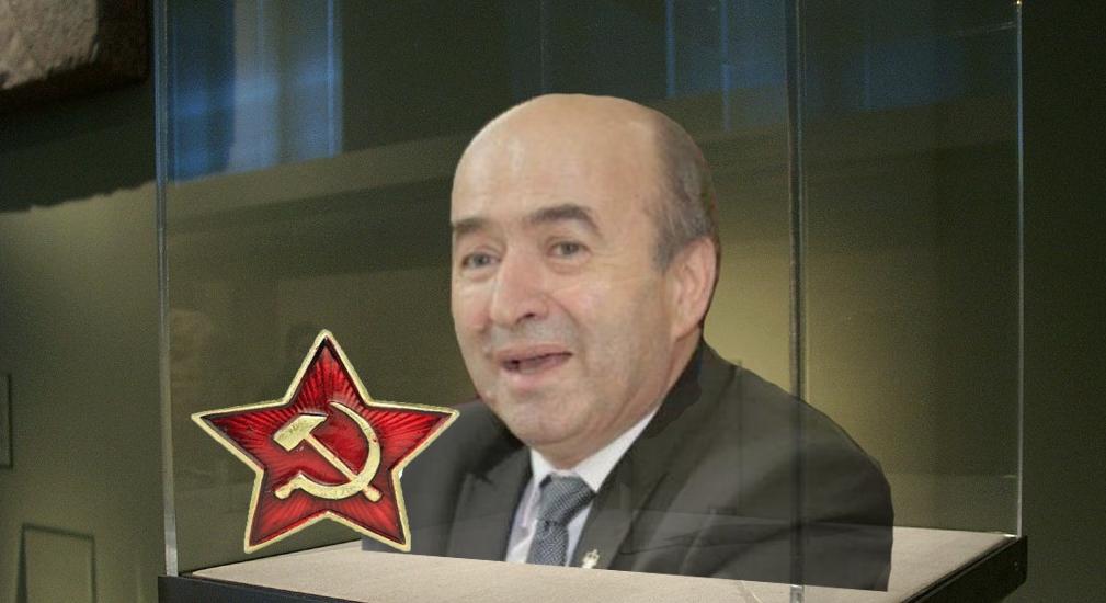 Tudorel Toader a fost expus la Muzeul Comunismului, ca fosilă bolșevică