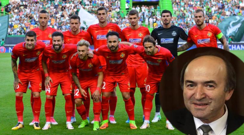 """Tudorel Toader vine cu încă o reformă:""""Parlamentul va numi și jucătorii FCSB!"""""""