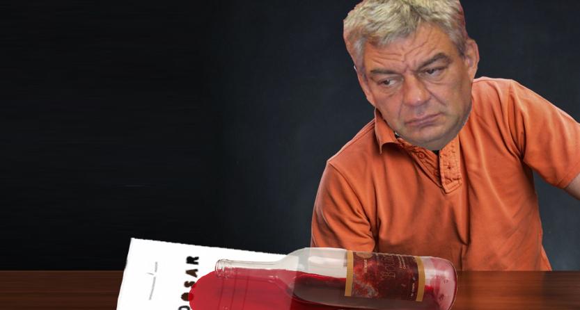 Am scăpat! Mihai Tudose a vărsat sticla de vin pe codul fiscal!
