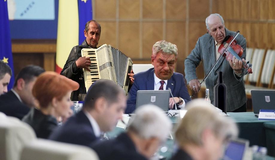 Mihai Tudose a extins schema guvernului cu 2 lăutari!