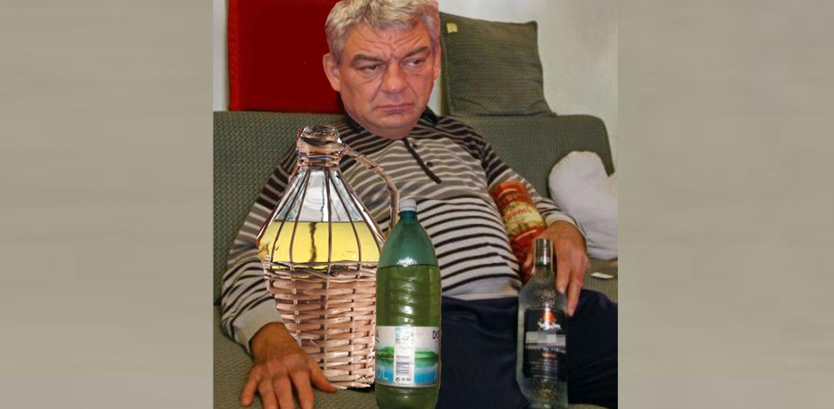 Alertă! Mihai Tudose s-a închis în casăși verificătoate sticlele de țuicăde microfoane!