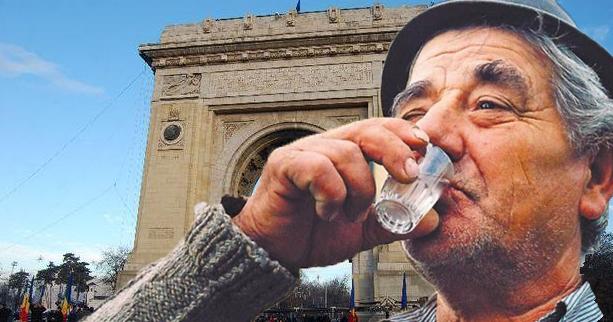 După trei pahare de ţuică fiartă, 69% dintre români declară că se îndreaptă într-o direcţie greşită!