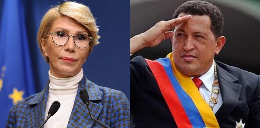 Doamna Turcan, sănu uitați căazi e ziua de naştere a lui Hugo Chavez.Ăsta e mort doar de 8 ani, aşa căn-o sămai comenteze lumea atât de mult
