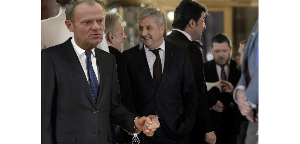 """Donald Tusk, discurs fulminant în românădupăce a dat mâna cu PSD-iștii: """"Dați-mi ceasul înapoi!"""""""