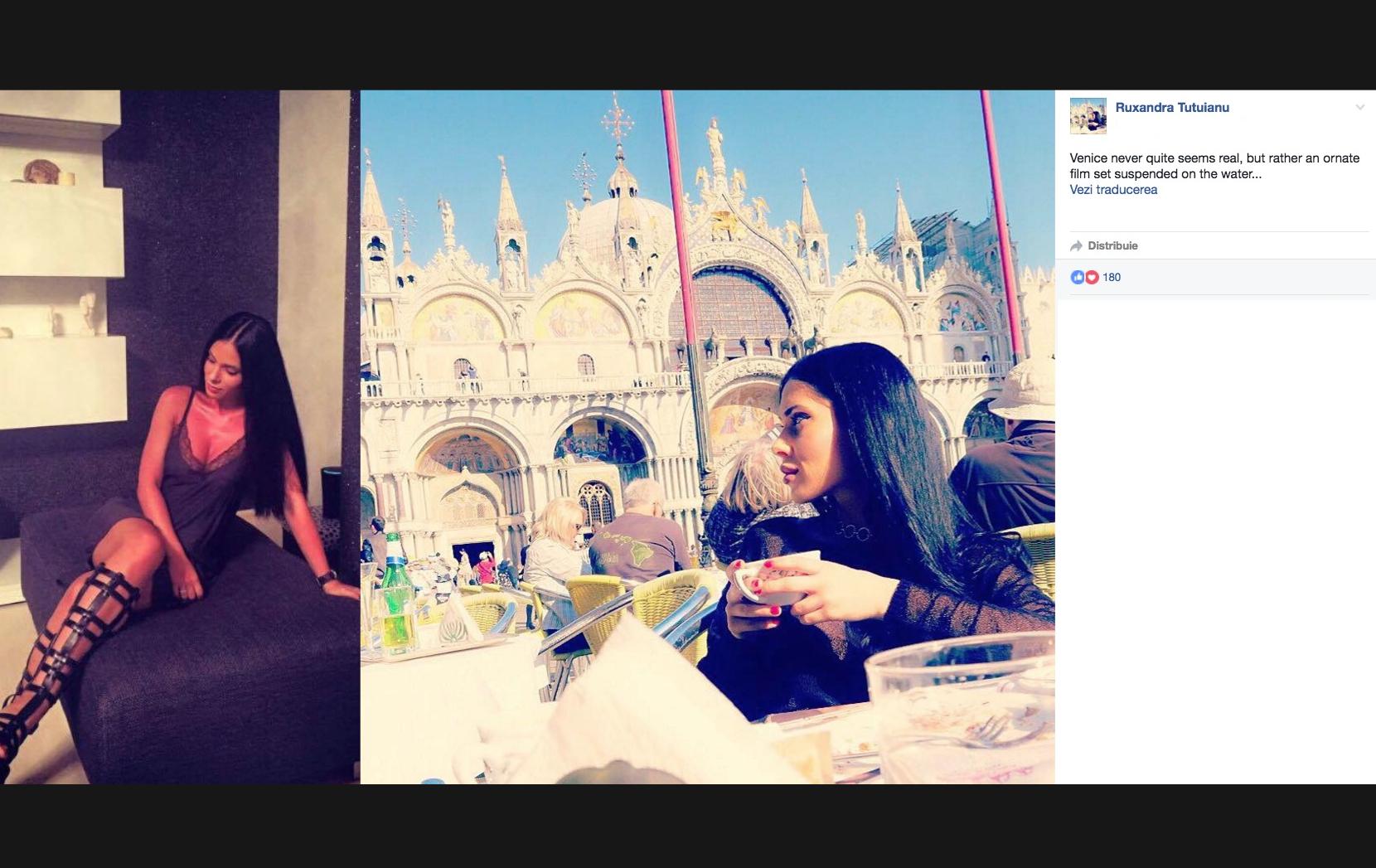 PSD-ista Țuțuianu, angajată la stat, își face vacanțele la Veneția. Jos corporatismu', jos săracii!