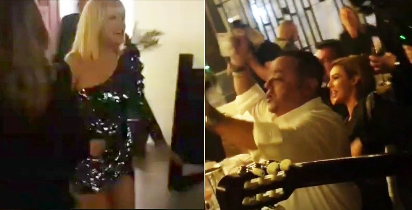 """Elena Udrea a dansat pe manelele lui Adi Minune: """"Mi-a şoptit păsărica/ C-ai fugitîn Costa Rica!"""""""