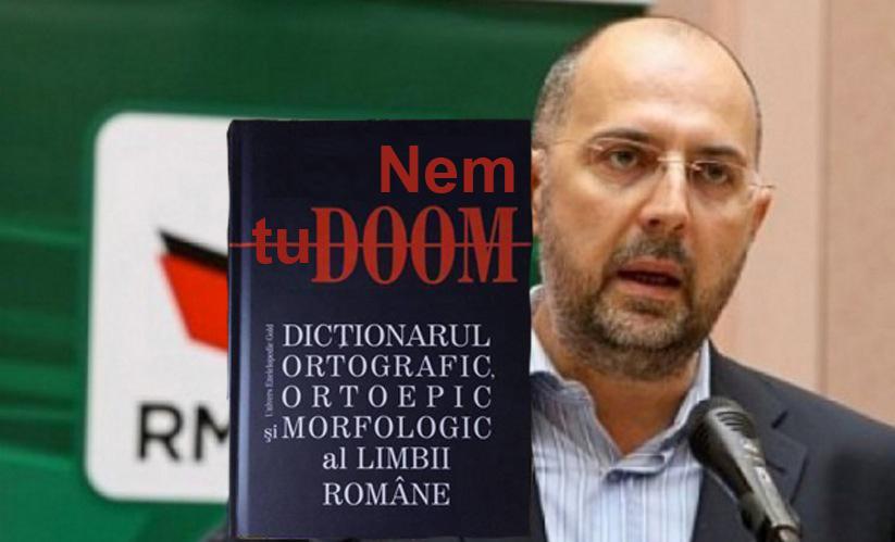 Ungurii au și ei un dicționar al limbii române: Nem tuDOOM!