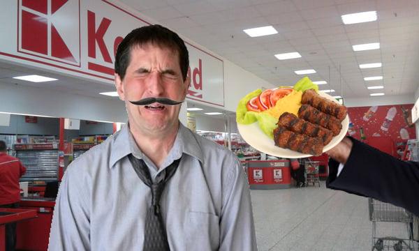 Ungur batjocorit la Kaufland în București: a cerut Ardealul și i-au dat mici!