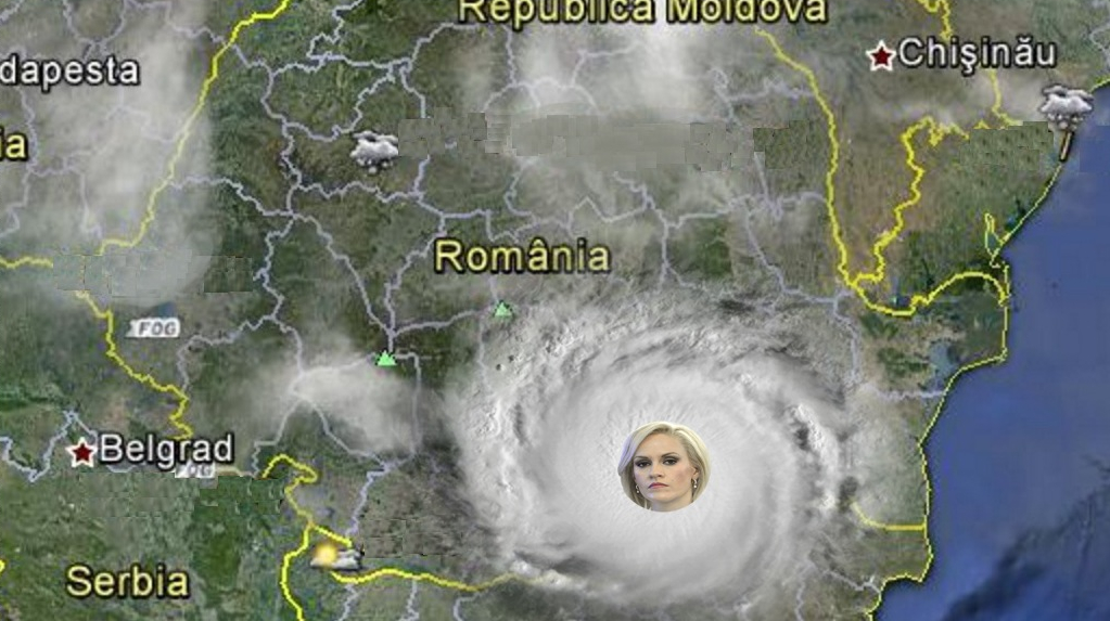 Anunț de ultimă oră al meteorologilor: Uraganul Firea ar putea lăsa România fără capitală!