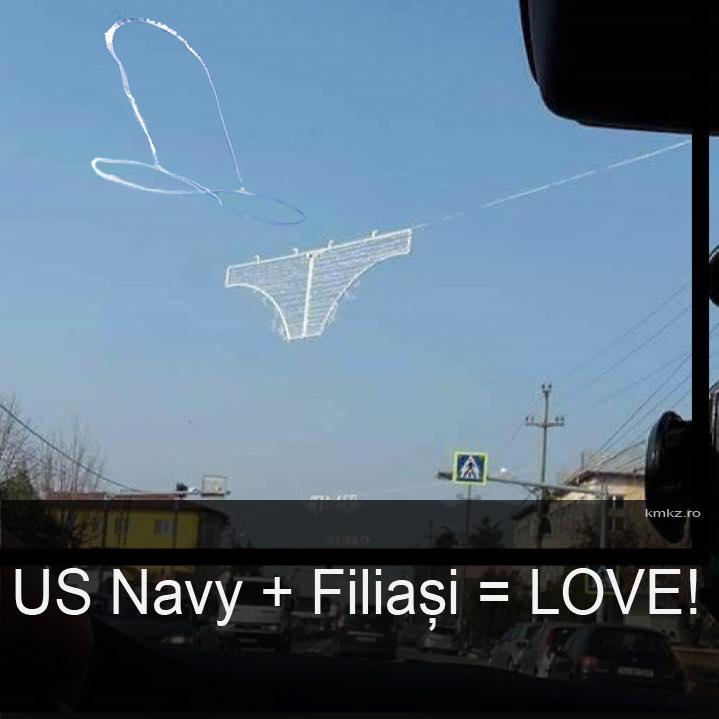 US Navy + Filiași = LOVE!