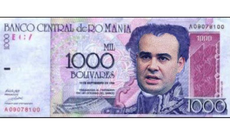 """Vâlcov: """"Trecem la bolivar! Euro nu mai e de viitor"""""""