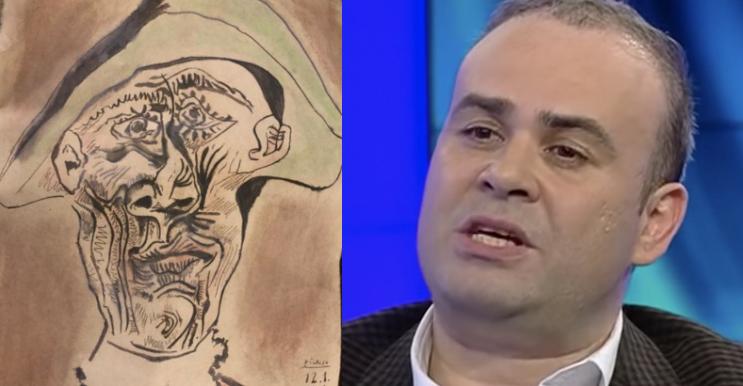 """Vâlcov despre tabloul fals de Picasso: """"Dacă era original, îl ascundeau în cimitir, nu sub copac!"""""""