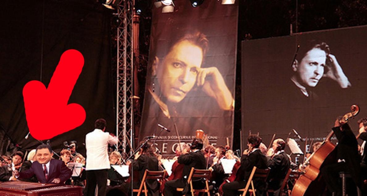 Marean Vanghelie, cu țambalul pe scena Festivalului George Enescu!