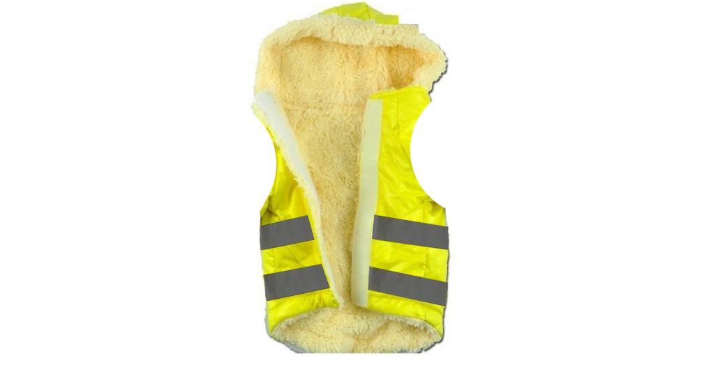 A apărut vesta galbenă îmblănită, pentru amnistia de iarnă!