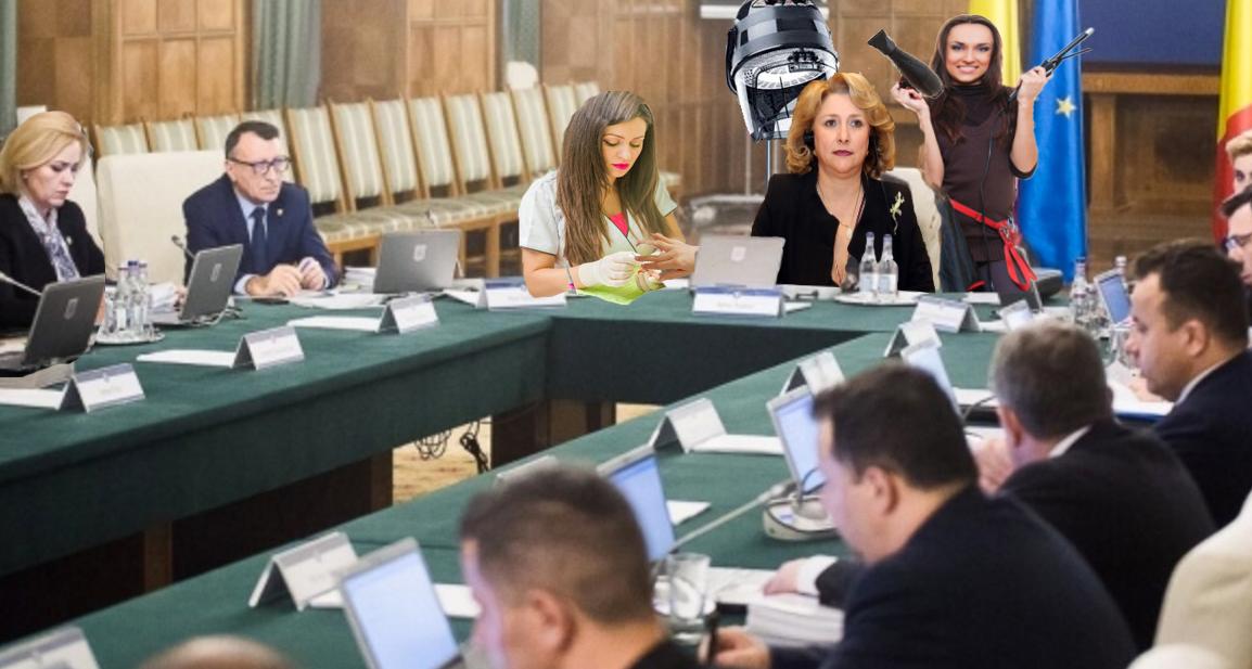 Viorica Dăncilă extinde schema guvernului cu două posturi: o coafeză și o manichiuristă!