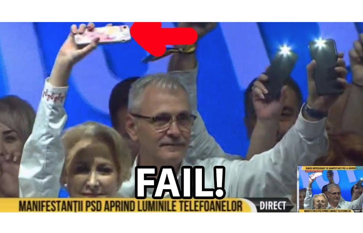 Viorica nu a aprins lanterna la telefon ca să nu consume minute!