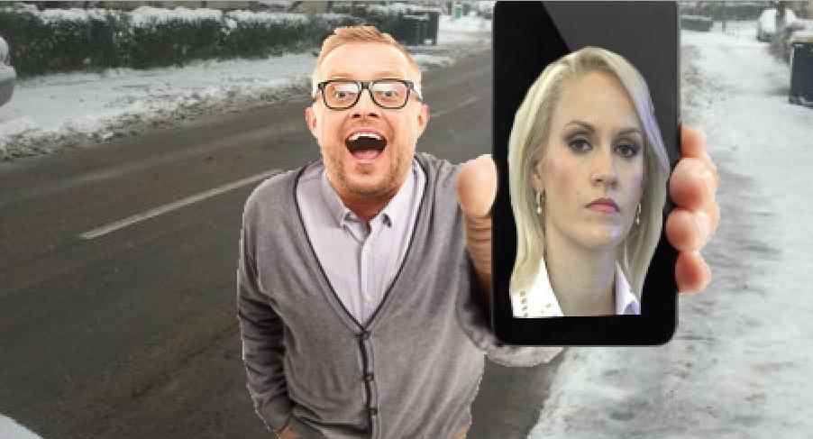 Un bucureștean susține că i-a fugit zăpada de pe stradă când i-a arătat o poză cu Firea!