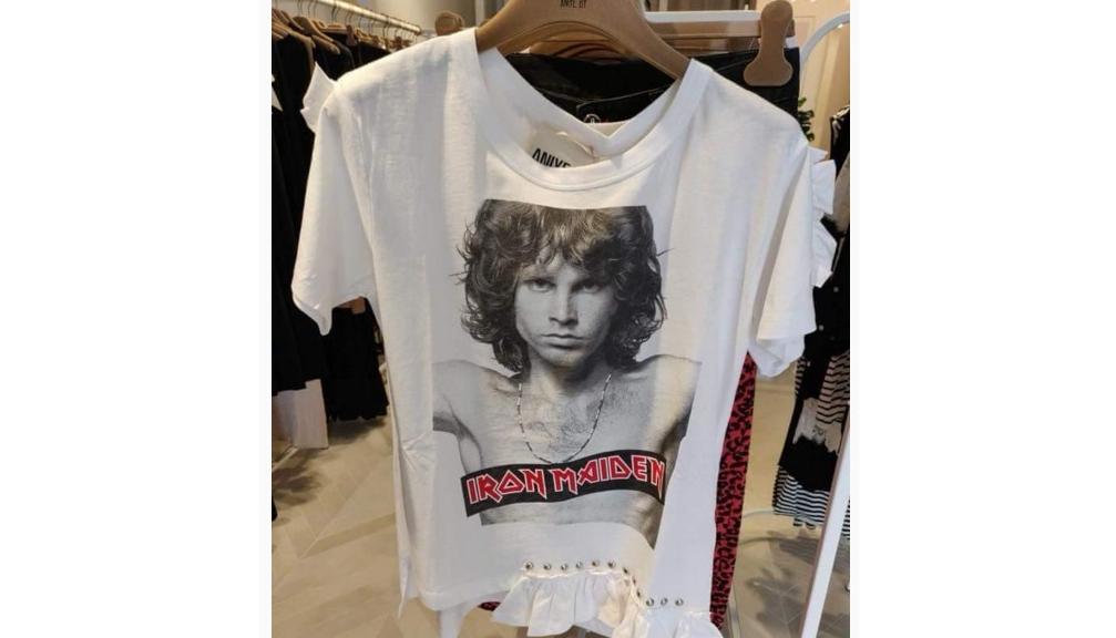Nou la Zara: Tricou cu Fredi Miercuryde la Irod Maiden! Mai aveau și cu Chirilă de la Nirvama!